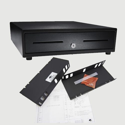 bracket push with open com mounting under quot drawers duty cash counter dp black drawer amazon heavy